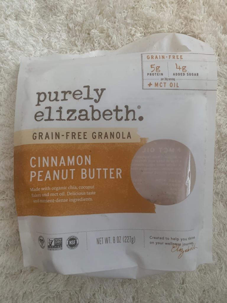 Simply Elizabeth. grain-free granola