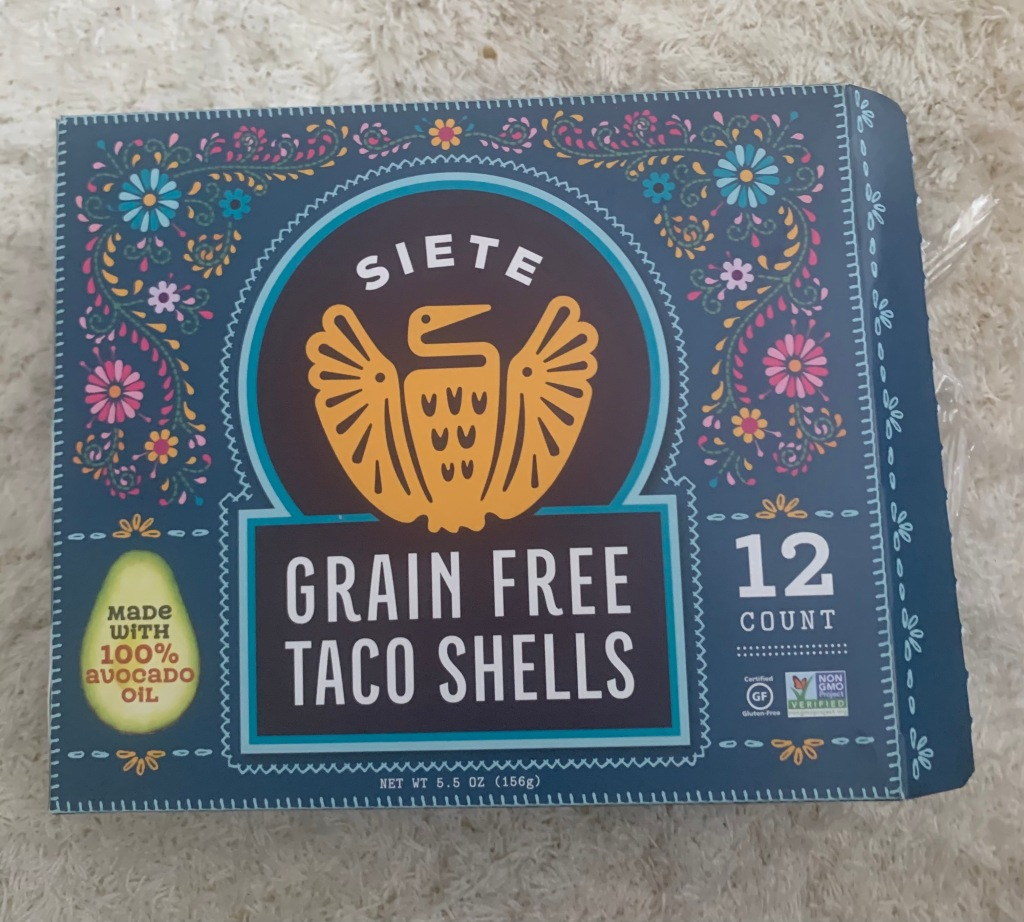 Siete Grain Free Taco Shells