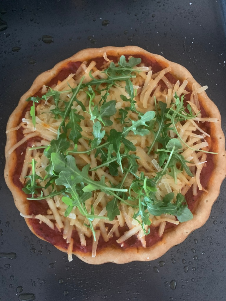 A picture of healthy gluten free and dairy free pizza