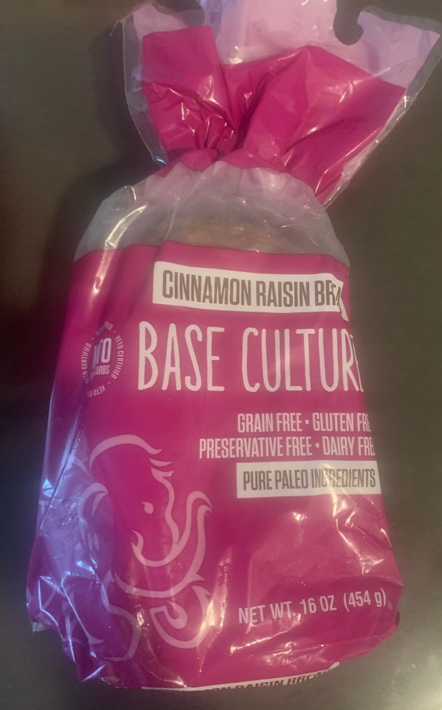 Base Culture Cinnamon Raisin Paleo Bread Package