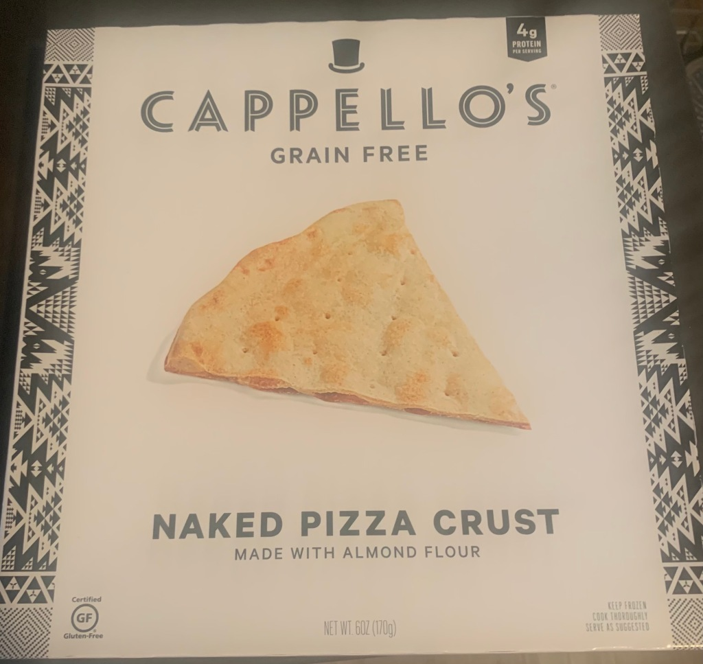 Capello's grain feww naked pizza crust