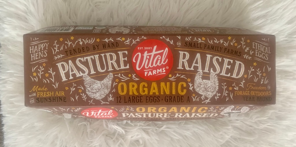 Vital Farms Pasture Raised Organic Eggs Package