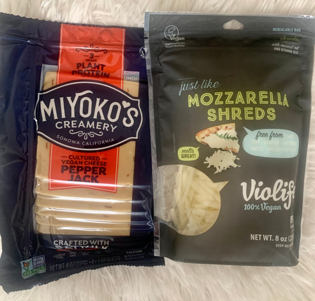 Violife & Miyoko's Vegan Cheese Packages