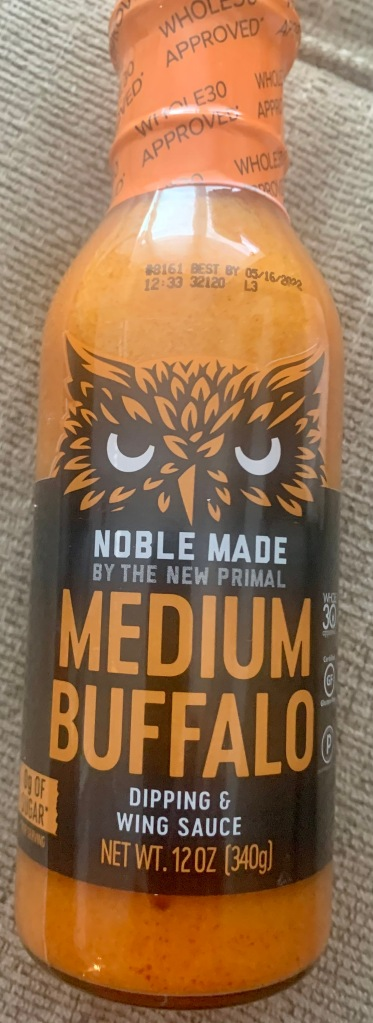 Noble Made by the new primal medium buffalo sauce container