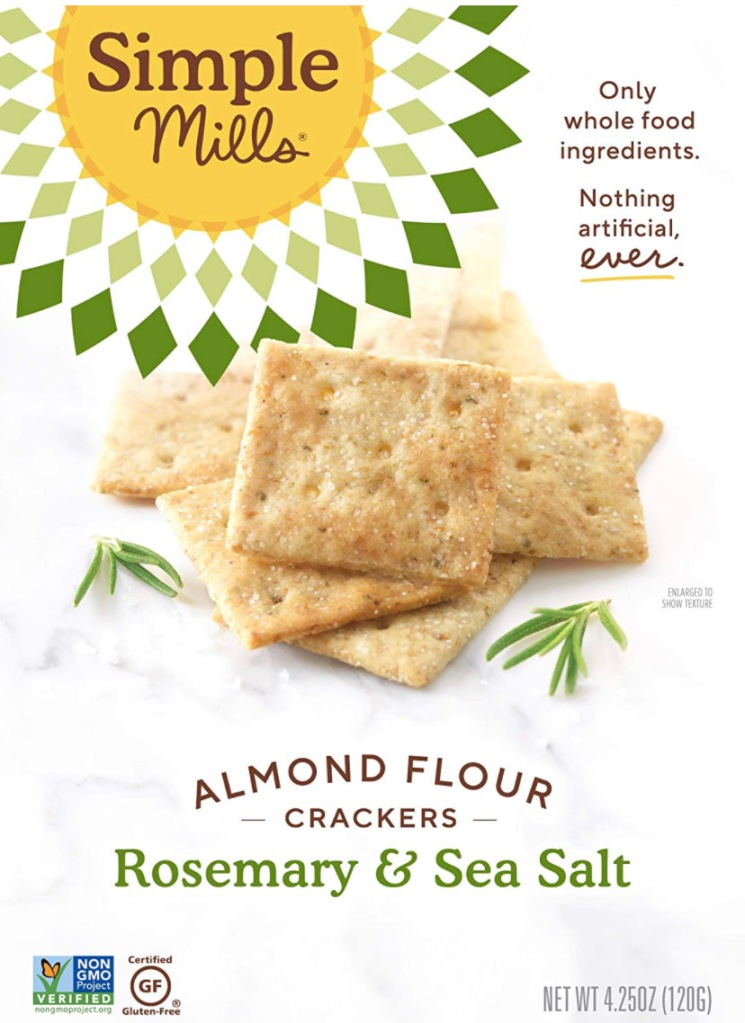Simple Mills Almond Flour Crackers Package